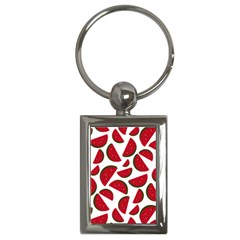 Fruit Watermelon Seamless Pattern Key Chains (Rectangle)
