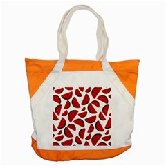 Fruit Watermelon Seamless Pattern Accent Tote Bag