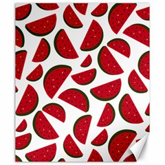 Fruit Watermelon Seamless Pattern Canvas 20  x 24