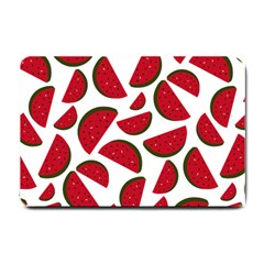 Fruit Watermelon Seamless Pattern Small Doormat