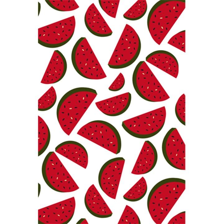 Fruit Watermelon Seamless Pattern 5.5  x 8.5  Notebooks