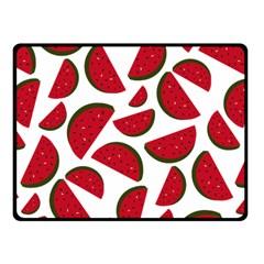 Fruit Watermelon Seamless Pattern Fleece Blanket (small)