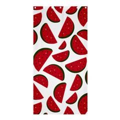 Fruit Watermelon Seamless Pattern Shower Curtain 36  x 72  (Stall)