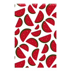 Fruit Watermelon Seamless Pattern Shower Curtain 48  x 72  (Small)