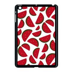 Fruit Watermelon Seamless Pattern Apple iPad Mini Case (Black)