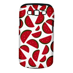 Fruit Watermelon Seamless Pattern Samsung Galaxy S Iii Classic Hardshell Case (pc+silicone)