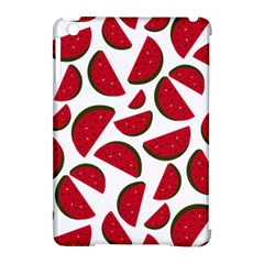 Fruit Watermelon Seamless Pattern Apple iPad Mini Hardshell Case (Compatible with Smart Cover)