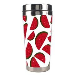 Fruit Watermelon Seamless Pattern Stainless Steel Travel Tumblers