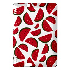 Fruit Watermelon Seamless Pattern Kindle Fire HDX Hardshell Case
