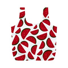 Fruit Watermelon Seamless Pattern Full Print Recycle Bags (m)