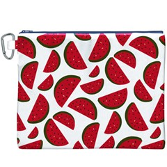 Fruit Watermelon Seamless Pattern Canvas Cosmetic Bag (XXXL)