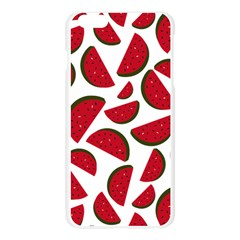 Fruit Watermelon Seamless Pattern Apple Seamless iPhone 6 Plus/6S Plus Case (Transparent)