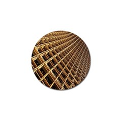 Construction Site Rusty Frames Making A Construction Site Abstract Golf Ball Marker (4 pack)
