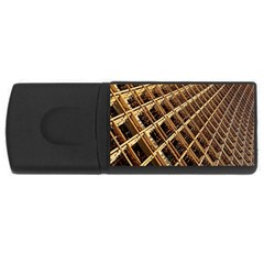 Construction Site Rusty Frames Making A Construction Site Abstract Usb Flash Drive Rectangular (4 Gb)