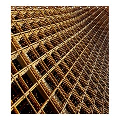 Construction Site Rusty Frames Making A Construction Site Abstract Shower Curtain 66  X 72  (large)