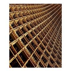Construction Site Rusty Frames Making A Construction Site Abstract Shower Curtain 60  X 72  (medium)