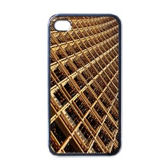 Construction Site Rusty Frames Making A Construction Site Abstract Apple Iphone 4 Case (black)
