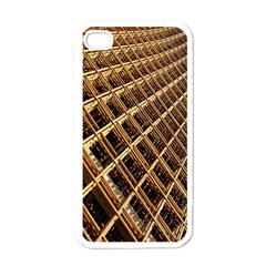 Construction Site Rusty Frames Making A Construction Site Abstract Apple Iphone 4 Case (white)