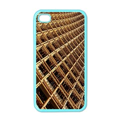 Construction Site Rusty Frames Making A Construction Site Abstract Apple Iphone 4 Case (color)