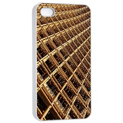 Construction Site Rusty Frames Making A Construction Site Abstract Apple Iphone 4/4s Seamless Case (white)