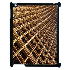 Construction Site Rusty Frames Making A Construction Site Abstract Apple iPad 2 Case (Black)