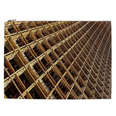 Construction Site Rusty Frames Making A Construction Site Abstract Cosmetic Bag (xxl)