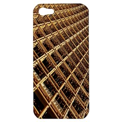 Construction Site Rusty Frames Making A Construction Site Abstract Apple Iphone 5 Hardshell Case
