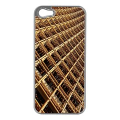 Construction Site Rusty Frames Making A Construction Site Abstract Apple Iphone 5 Case (silver)