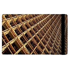 Construction Site Rusty Frames Making A Construction Site Abstract Apple Ipad 2 Flip Case