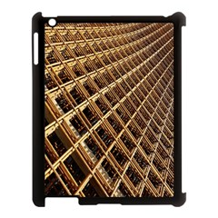 Construction Site Rusty Frames Making A Construction Site Abstract Apple iPad 3/4 Case (Black)
