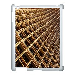 Construction Site Rusty Frames Making A Construction Site Abstract Apple iPad 3/4 Case (White)