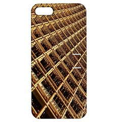 Construction Site Rusty Frames Making A Construction Site Abstract Apple iPhone 5 Hardshell Case with Stand