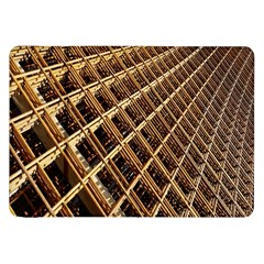 Construction Site Rusty Frames Making A Construction Site Abstract Samsung Galaxy Tab 8 9  P7300 Flip Case