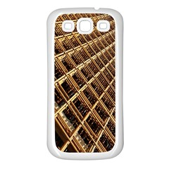 Construction Site Rusty Frames Making A Construction Site Abstract Samsung Galaxy S3 Back Case (White)