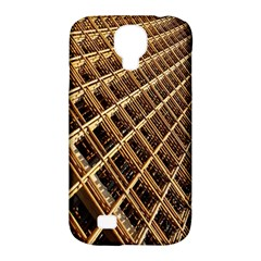 Construction Site Rusty Frames Making A Construction Site Abstract Samsung Galaxy S4 Classic Hardshell Case (PC+Silicone)