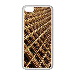 Construction Site Rusty Frames Making A Construction Site Abstract Apple iPhone 5C Seamless Case (White)