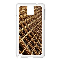Construction Site Rusty Frames Making A Construction Site Abstract Samsung Galaxy Note 3 N9005 Case (White)