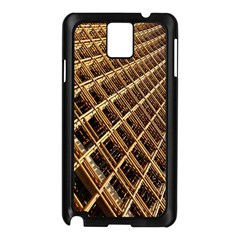 Construction Site Rusty Frames Making A Construction Site Abstract Samsung Galaxy Note 3 N9005 Case (Black)