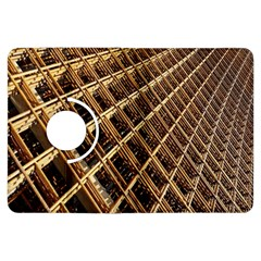 Construction Site Rusty Frames Making A Construction Site Abstract Kindle Fire Hdx Flip 360 Case