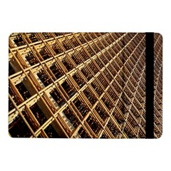 Construction Site Rusty Frames Making A Construction Site Abstract Samsung Galaxy Tab Pro 10.1  Flip Case