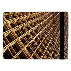 Construction Site Rusty Frames Making A Construction Site Abstract Samsung Galaxy Tab Pro 12.2  Flip Case