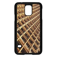 Construction Site Rusty Frames Making A Construction Site Abstract Samsung Galaxy S5 Case (black)