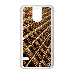 Construction Site Rusty Frames Making A Construction Site Abstract Samsung Galaxy S5 Case (White)