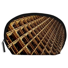 Construction Site Rusty Frames Making A Construction Site Abstract Accessory Pouches (Large)