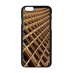 Construction Site Rusty Frames Making A Construction Site Abstract Apple Iphone 6/6s Black Enamel Case