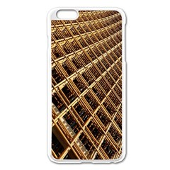 Construction Site Rusty Frames Making A Construction Site Abstract Apple iPhone 6 Plus/6S Plus Enamel White Case