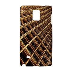 Construction Site Rusty Frames Making A Construction Site Abstract Samsung Galaxy Note 4 Hardshell Case
