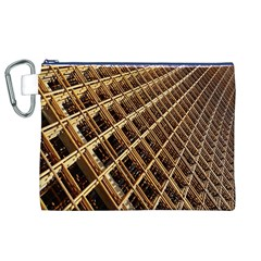 Construction Site Rusty Frames Making A Construction Site Abstract Canvas Cosmetic Bag (XL)