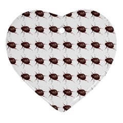 Insect Pattern Ornament (heart)