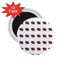 Insect Pattern 2.25  Magnets (10 pack)